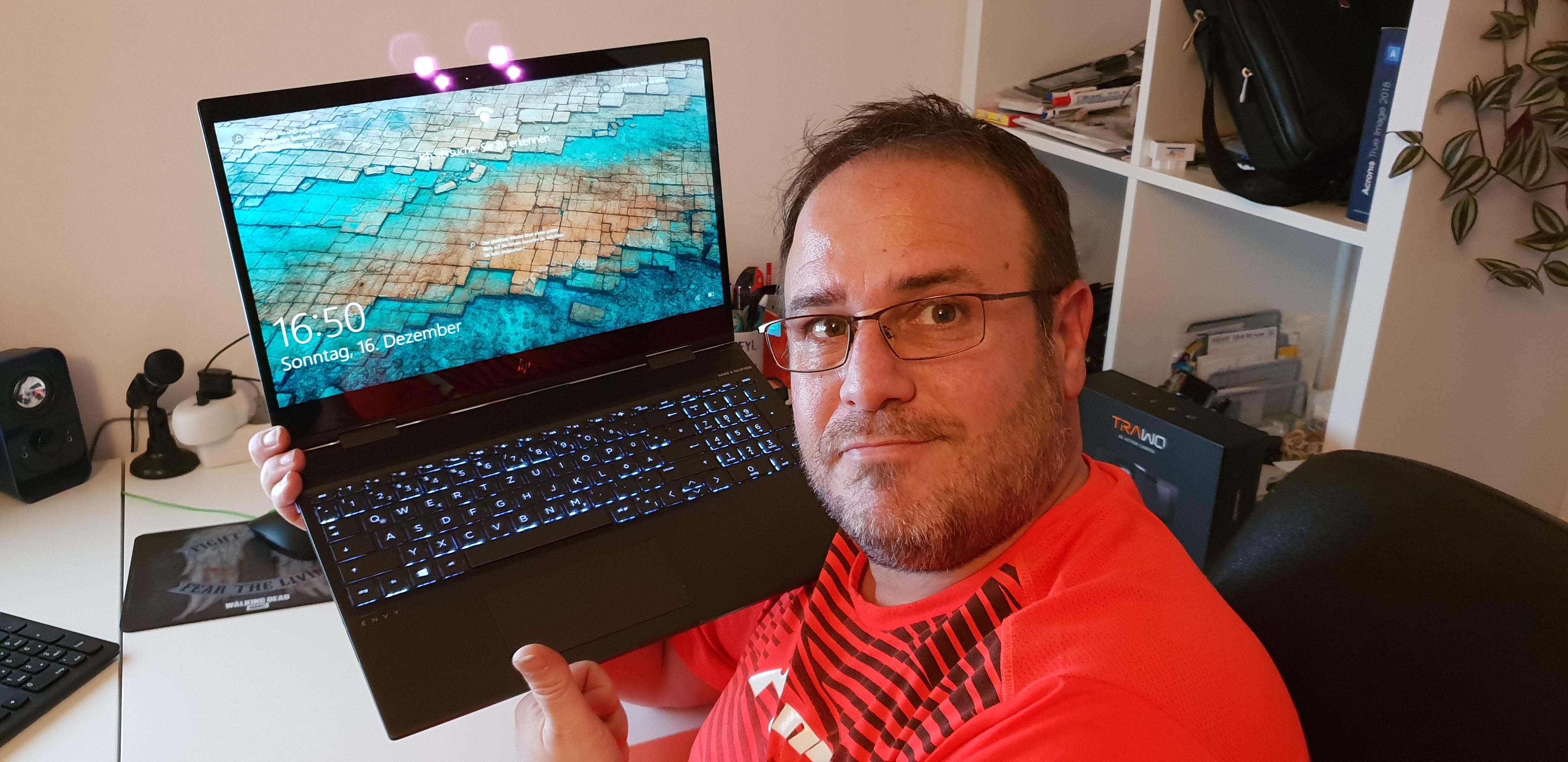 HP Envy X360 Convertible Tablet Laptop im Test