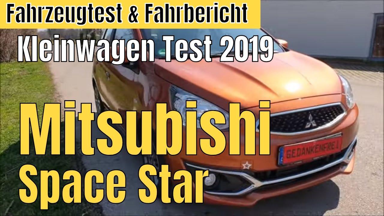 Mitsubishi Space Star – Kleinwagen Test 2019