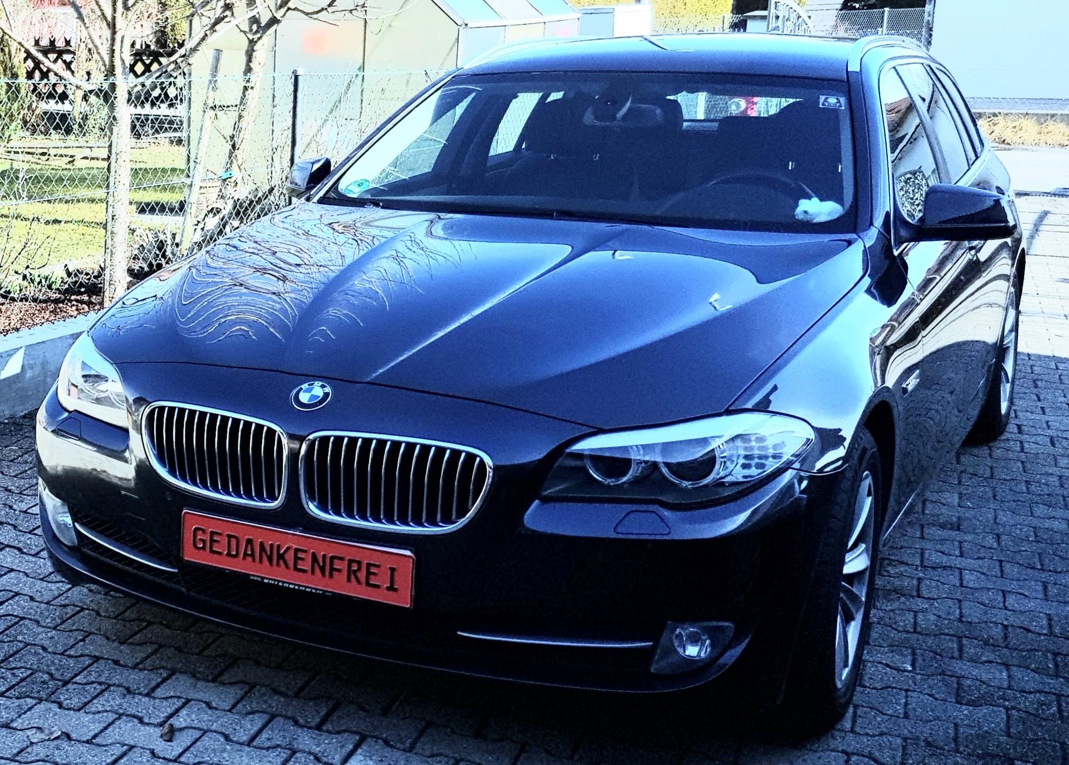 BMW 535i der BMW vor dem Motorschaden